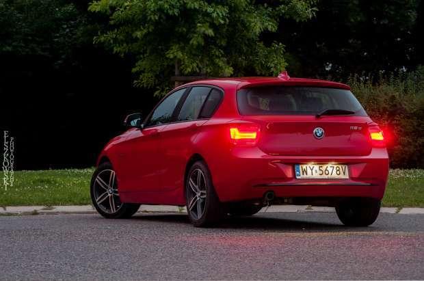 BMW serii 1 tył