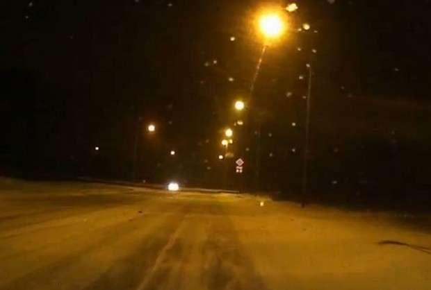 BMW E36 na śniegu