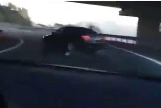 BMW M5 E60 V10 drifting