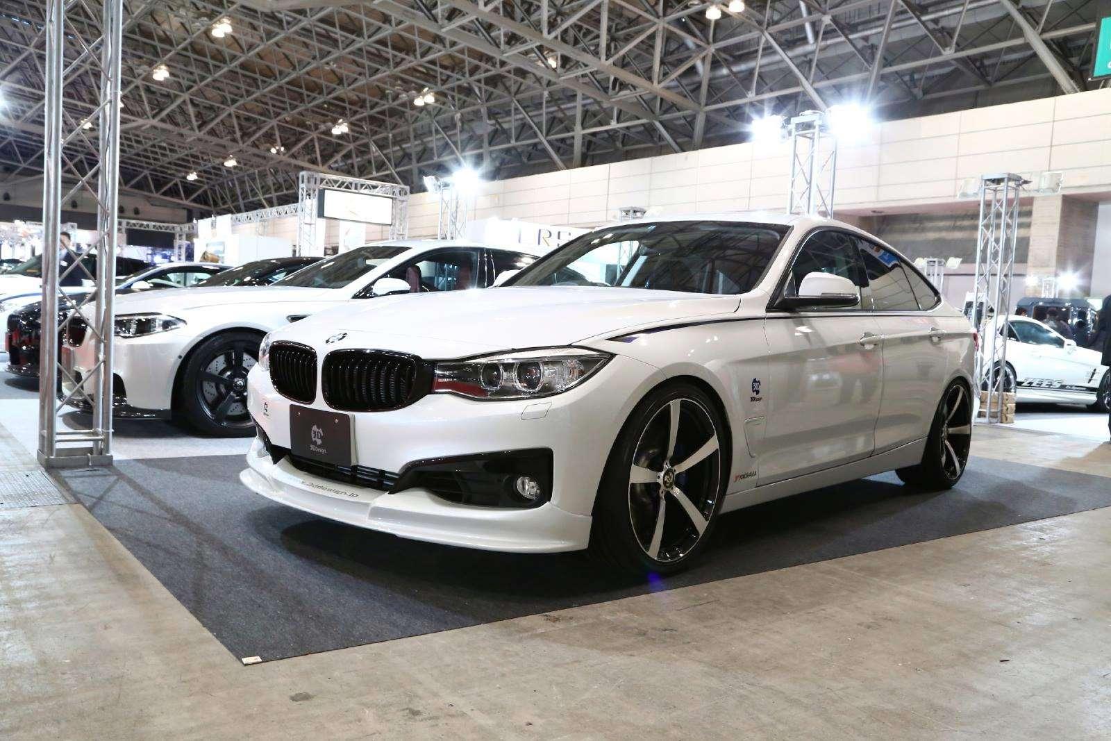 BMW serii 3 GT tuning 3D Design