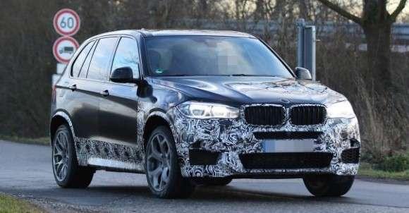 BMW X5 M 2014 spy