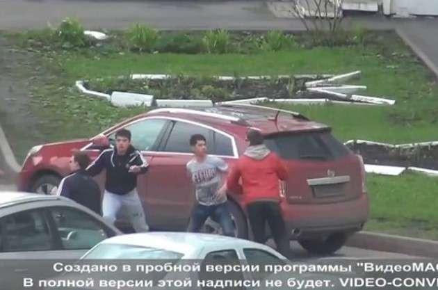 Bójka w Rosji