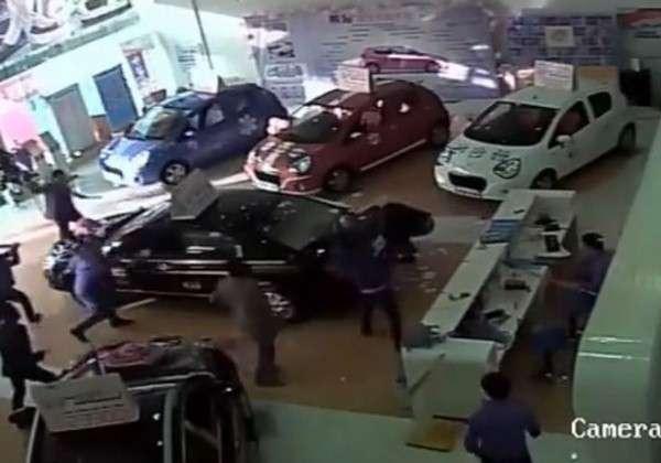 Salon samochodowy Chiny