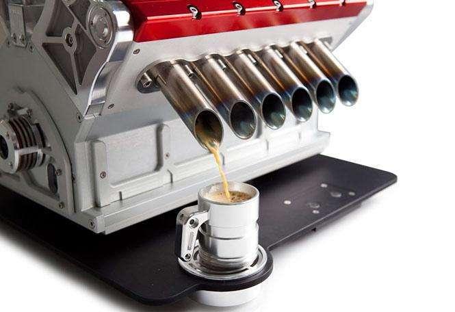Espresso Veloce Serie Titanio V12