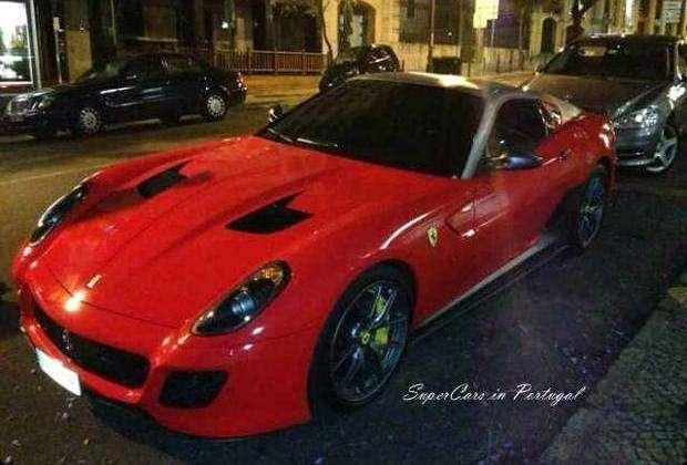 Ferrari 599 GTO Cristiano Ronaldo