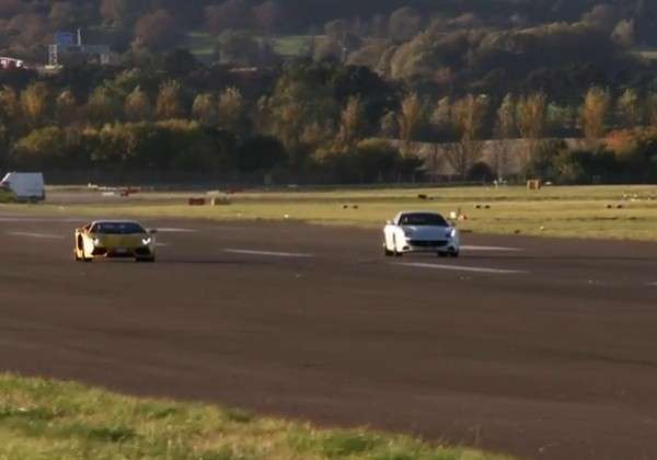 Ferrari FF vs Lamborghini Aventador