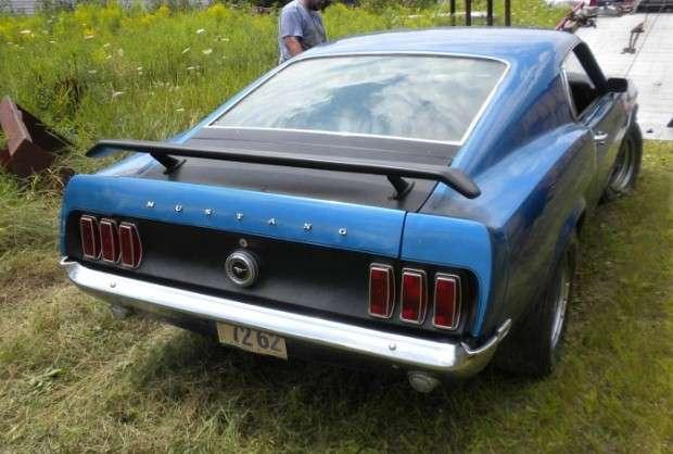 Mustang Boss 302 z 1969 roku