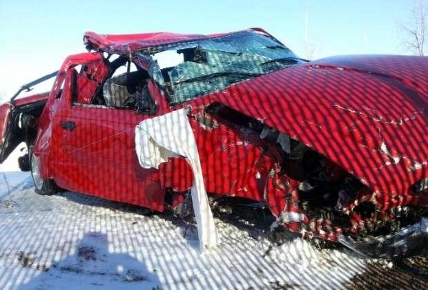 Ford Ranger crash