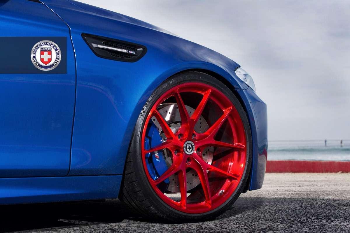 BMW M5 F10 HRE Whells