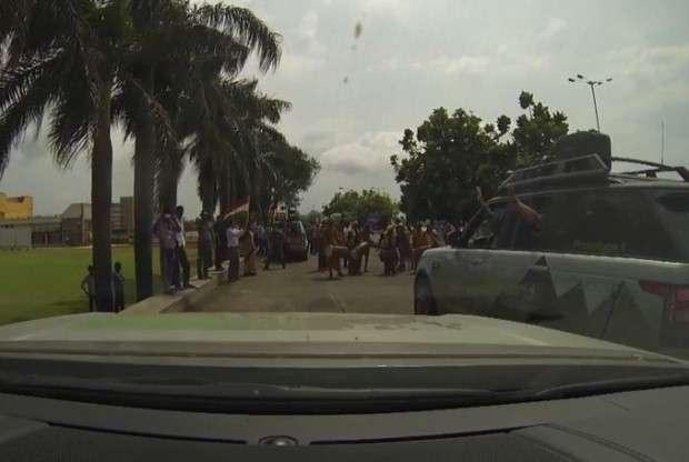 Jazda samochodem w Indiach