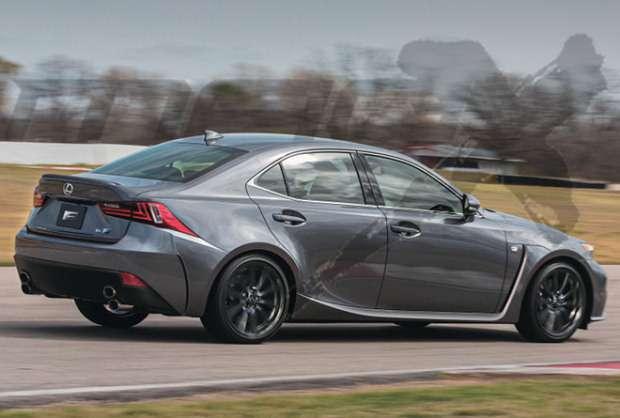 Lexus IS-F 2016 rendering