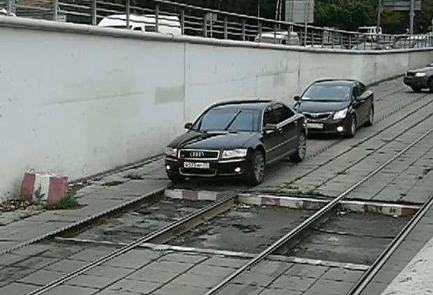 Jazda po torach tramwajowych
