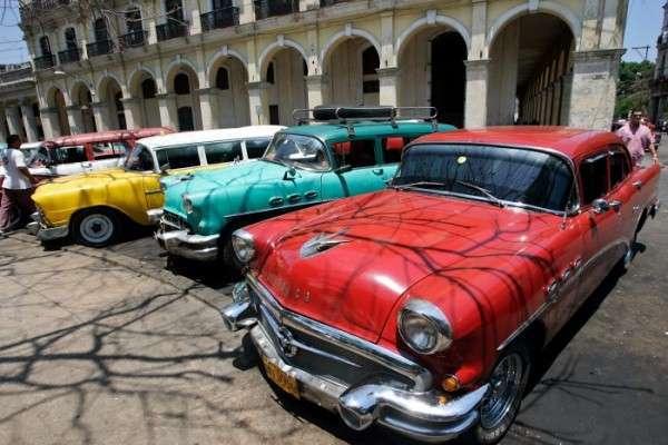 Kuba - samochody