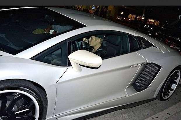 Justin Bieber Lamborghini