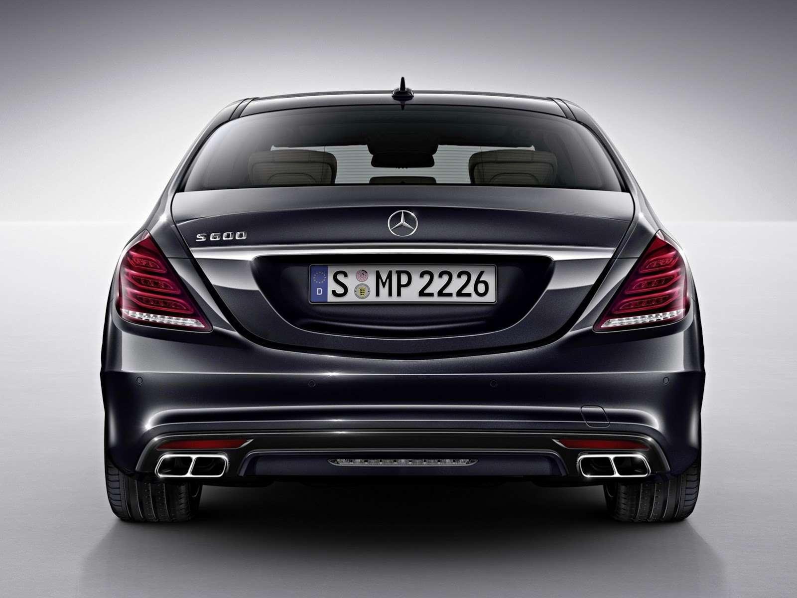 Mercedes-Benz S600 2014