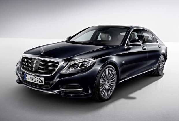 Nowy Mercedes S600 2014
