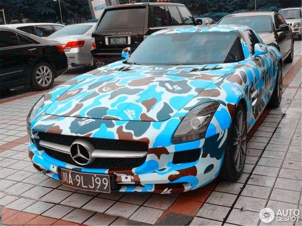 Mercedes SLS AMG łatki