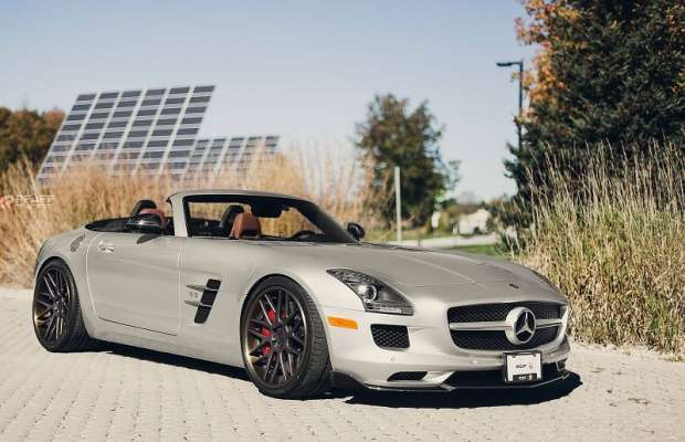 Mercedes SLS AMG Roadster by Pfaff Tuning