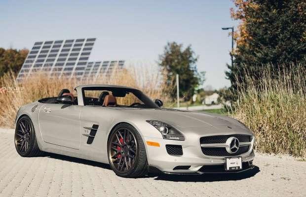 Mercedes SLS AMG Roadster by Pfaff Tuning