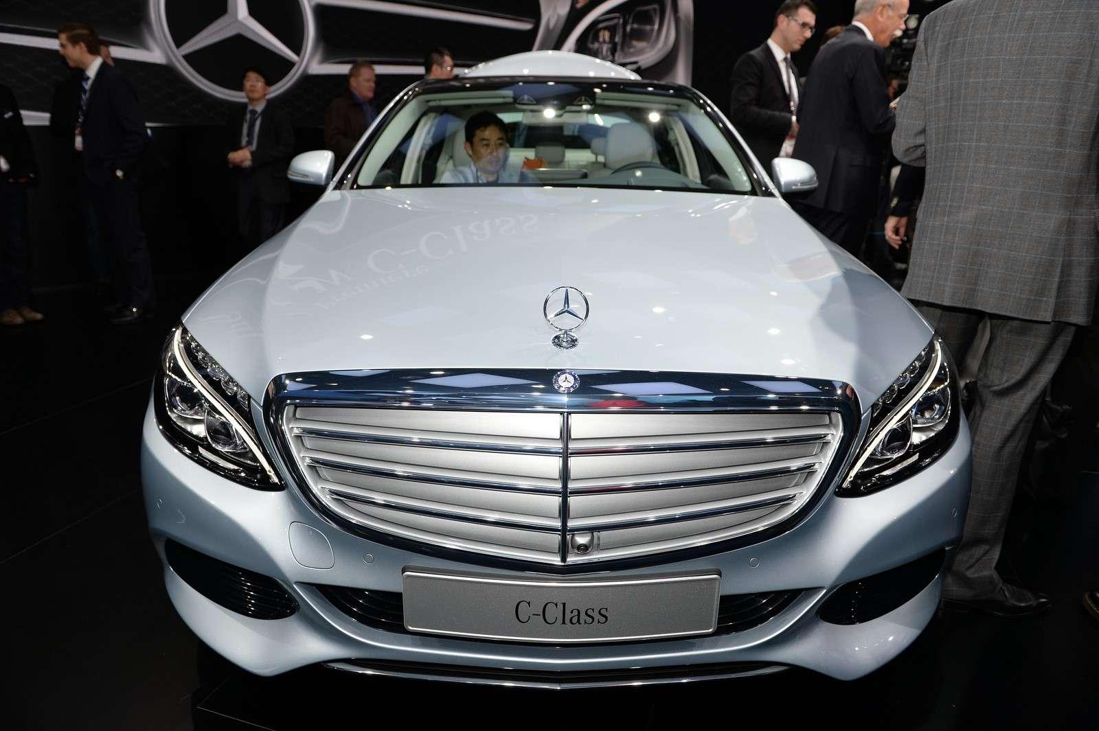 Mercedes Klasy C 2014