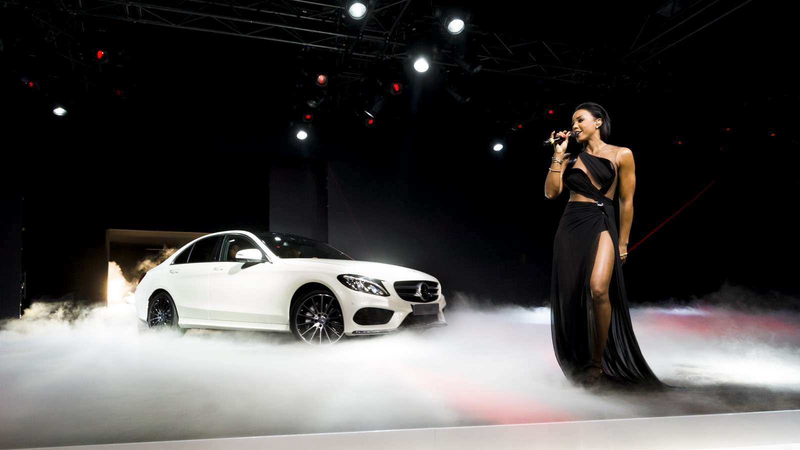 Mercedes Benz C-Class 2015 Live Photos from Detroit 2014
