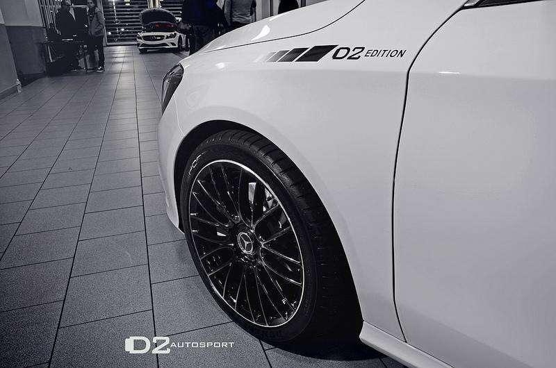 Mercedes CLA D2 Autosport