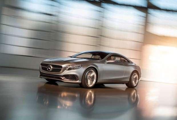 Mercedes Klasy S Coupe concept