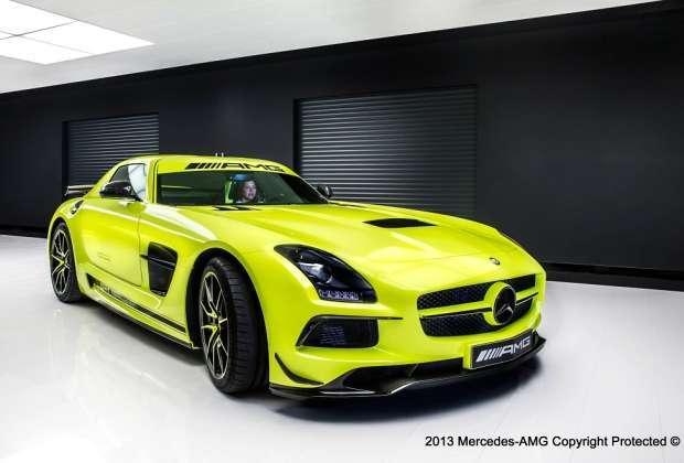 Mercedes SLS AMG Black Series stworzony na życzenie klienta