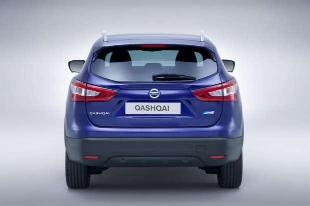 Nissan Qashqai 2014 rear