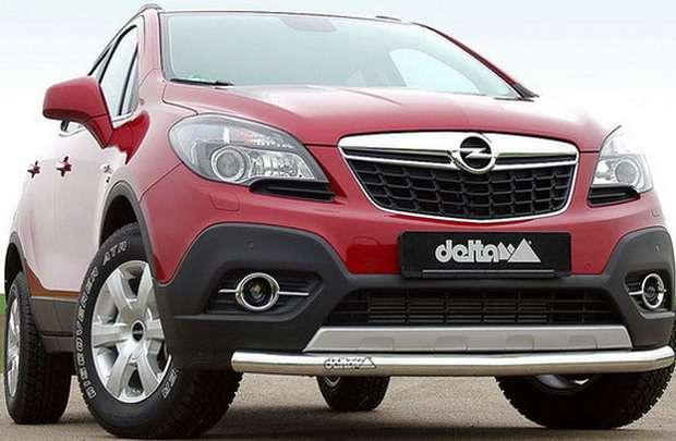 Opel Mokka po tuningu Delta