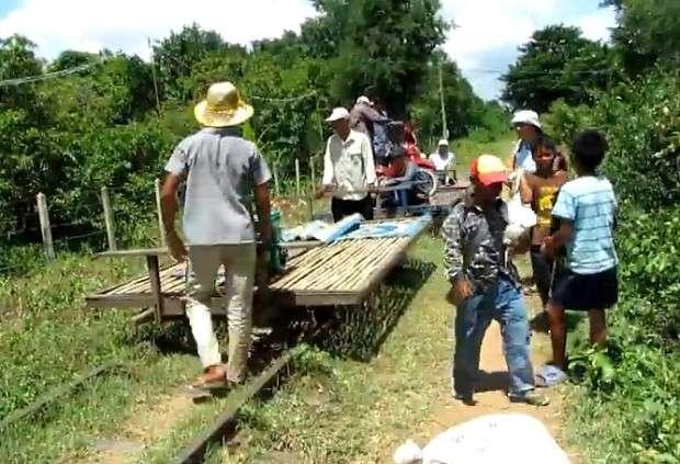 Pociąg z bambusa