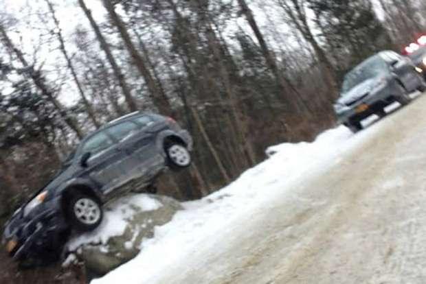 Pontiac na kamieniu