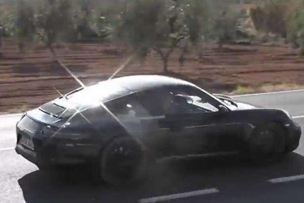 Porsche 911 991 facelift
