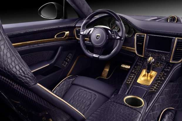 Porsche Panamera Turbo S interior