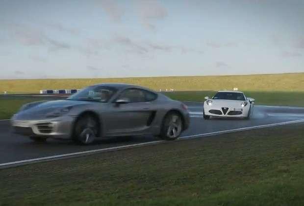 Alfa Romeo 4C vs Porsche Cayman vs Toyota GT86