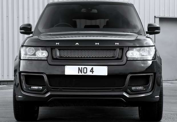 Range Rover po tuningu Kahn