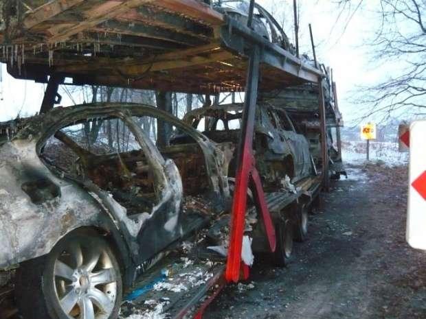 Spalone BMW Bytom