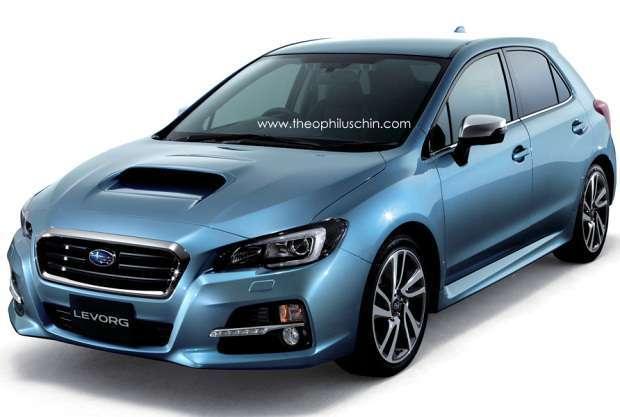 Subaru Levorg rendering