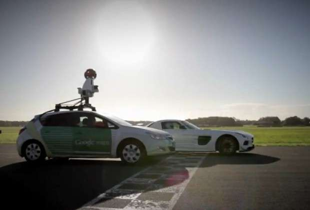 Top Gear Google car