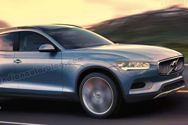 Nowe Volvo XC90 rendering