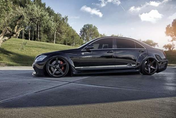 Mercedes S W221 tuning