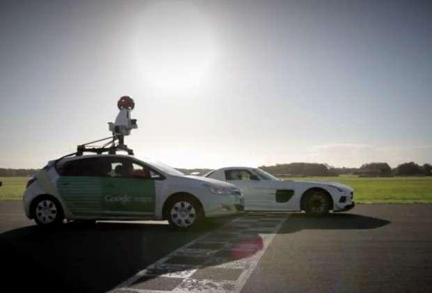 Top Gear Google car