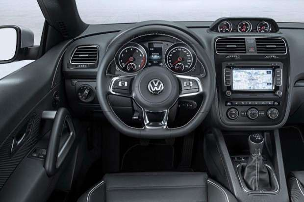 Volkswagen Scirocco facelift 2014 interior