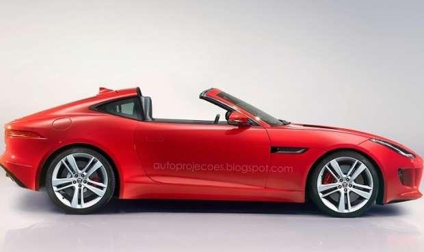 Jaguar F-Type Targa