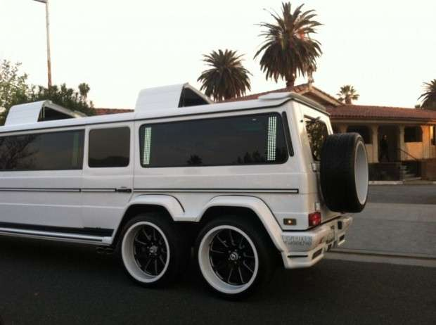 Mercedes-Benz G55 AMG limo streeth