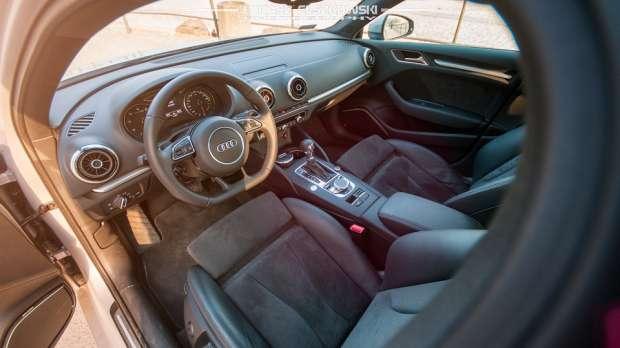Audi A3 Limousine interior