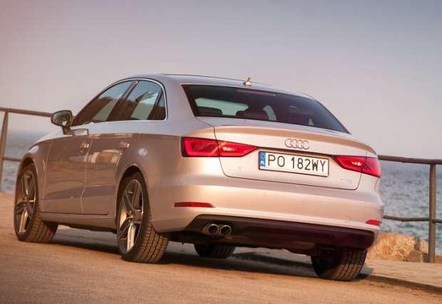 Audi A3 Limousine 1.8 TFSI rear view
