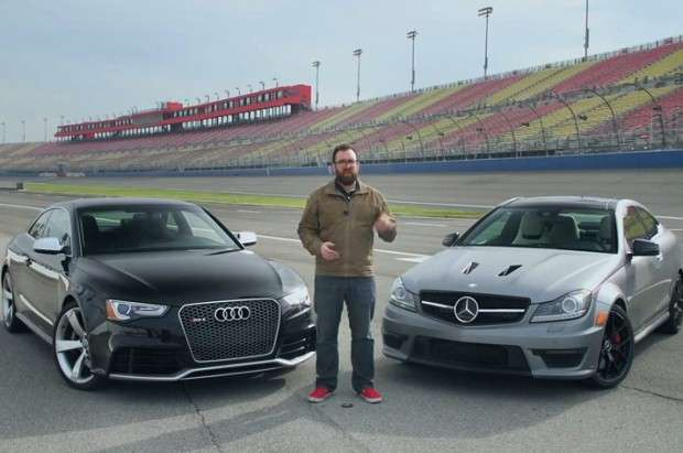 Audi RS5 vs Mercedes C63 AMG