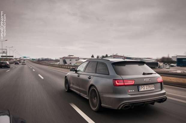 Audi RS6 C7 tył