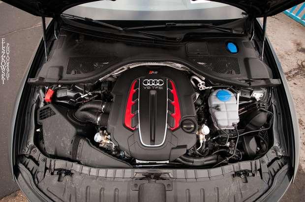 Audi RS6 C7 engine